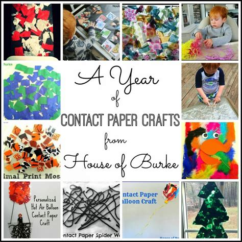 Contact Paper For Crafts - 1000 ideas about contact paper crafts on