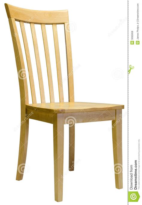 maple dining room chair royalty free stock photos image