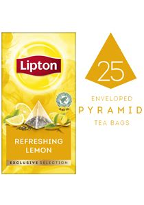 Exclusive Deal 25 At Simplysolescom by Lipton Exclusive Selection Refreshing Lemon Tea 25s