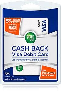 Can You Get Cashback On A Visa Gift Card - where to cash green dot card infocard co