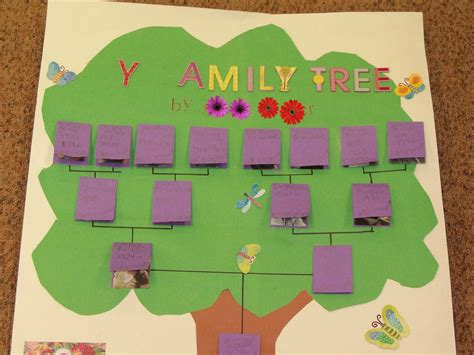 family tree crafts for family tree craft idea for 3 171 preschool and homeschool