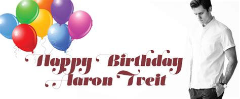random thoughts its my birthday aaron cake happy birthday aaron tveit that s normal