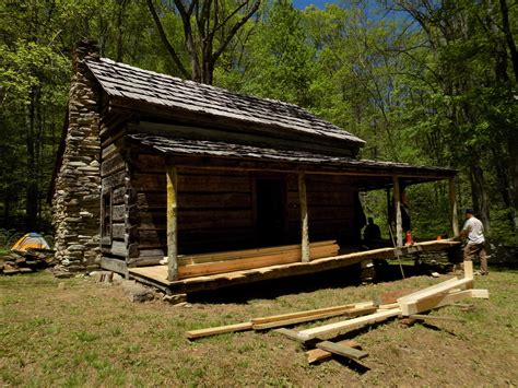 Great Smoky Cabins by When Work Isn T Work Asheville Volunteers Rebuild
