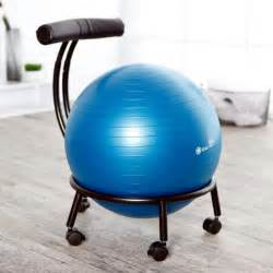 Best Exercise Ball Chair Amazon Com Gaiam Custom Fit Adjustable Balance Ball