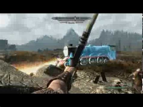 skyrim thomas  tank engine mod youtube
