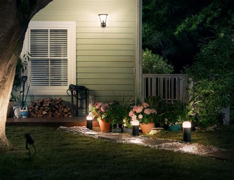 hue outdoor lights philips hue outdoor smart lights 187 gadget flow