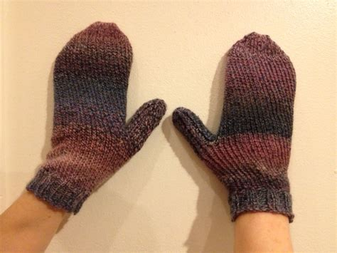 Sock Loom Knit Mittens Teridilibero