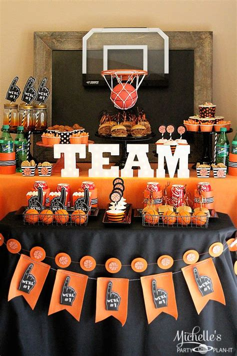 homemade themes by james best 25 basketball party themes ideas on pinterest