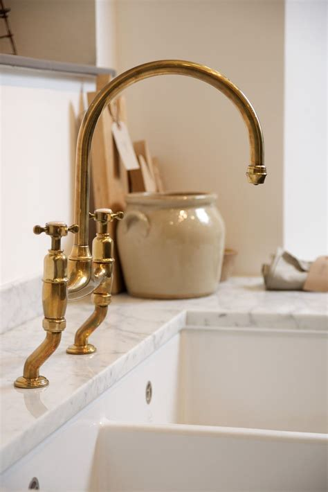 Our Perrin and Rowe ?Ionian mixers? in aged brass are now