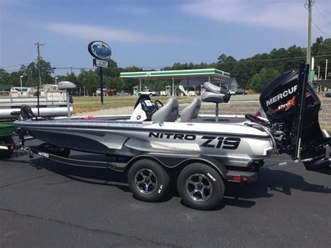 z19 bass boat for sale 2017 new nitro z19 z pro high performance package bass