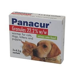 panacur for dogs getpanacur granules for dogs at discount rate from at petcaresupplies