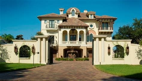 dream home design usa venetian palace luxury home plan