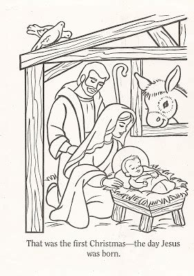 nativity coloring page lds lds nursery color pages christmas lesson