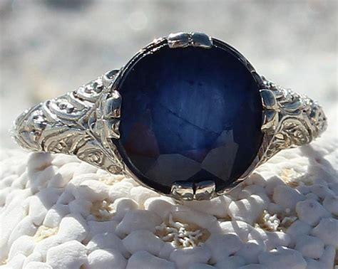 6 3ct Blue Sapphire 28 best beautiful blue sapphire rings images on