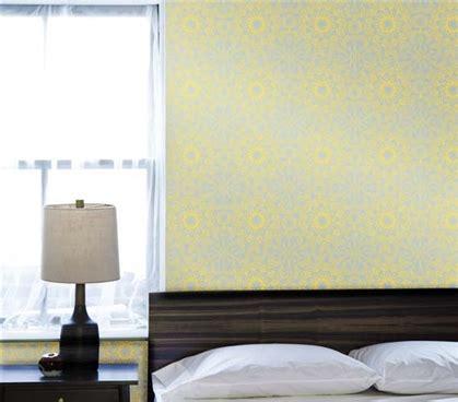 removable wallpaper for dorm rooms and homes today com medallion sunrise designer removable wallpaper