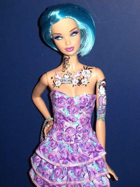 tattooed barbie tattooed its sooooo to i wasn t the only