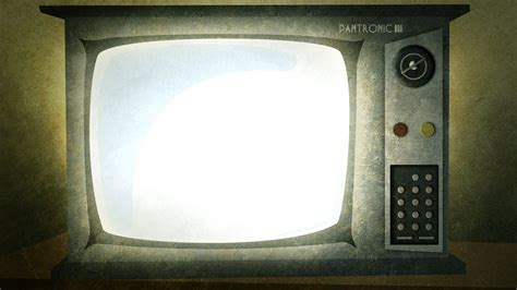 design background tv old tv set background powerpoint 4235179 1600x900 all