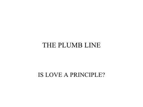 Plumb Line Bible Verse by The Plumb Line