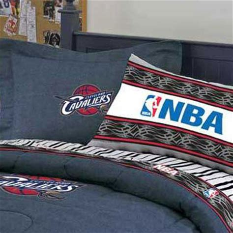 cleveland cavaliers team denim pillow sham