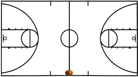 How To Draw A 3d Basketball Court