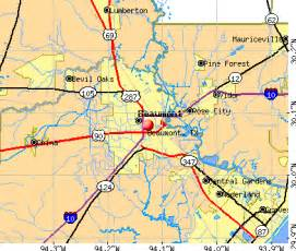 map of beaumont and surrounding areas beaumont map