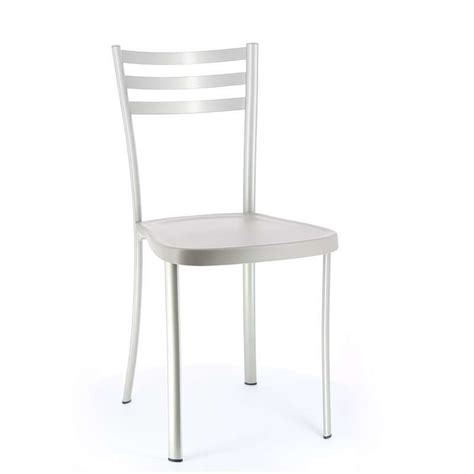 chaises de cuisine but chaise de cuisine en m 233 tal 1320 assise en polypropyl 232 ne