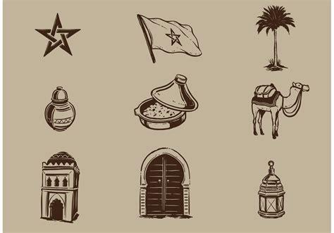 morocco vector elements   vector art