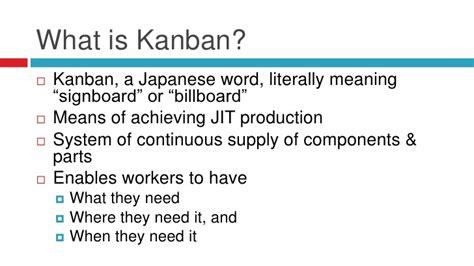 design kanban meaning kanban systems