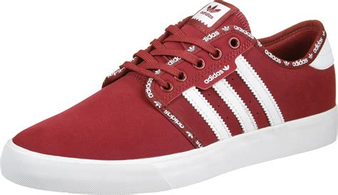 adidas red shoes adidas seeley shoes red white
