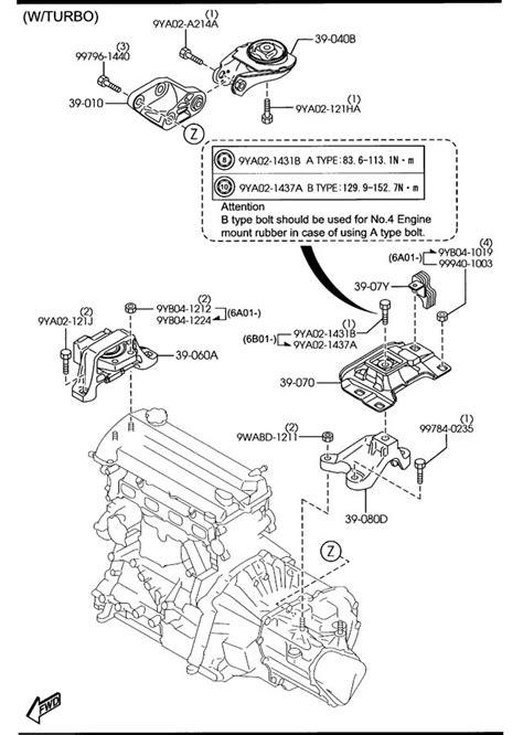 service manual 2007 mazda mazda3 manual transmission schematic 2004 mazda 3 transmission