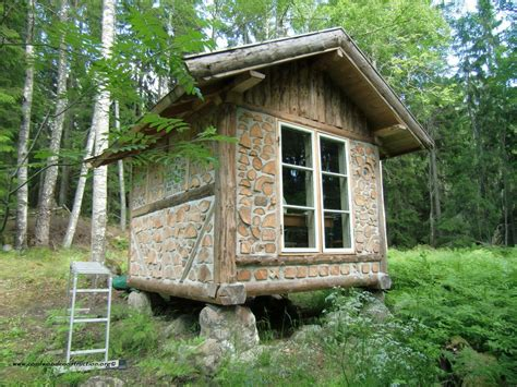 tiny home cabin cordwood writer s cabin in sweden cordwood construction