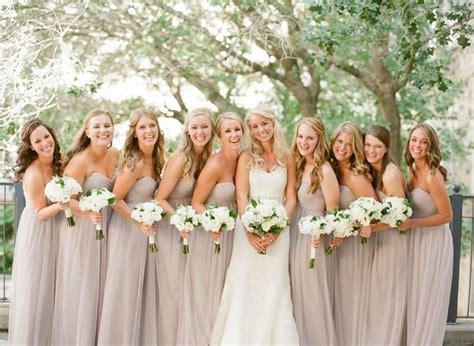 best 25 chagne bridesmaids ideas on pinterest