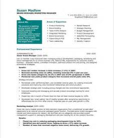 marketing manager resume 2015 marketing manager resume