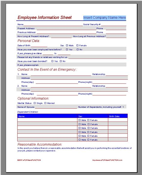 employment application template microsoft word calendar