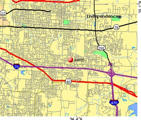 missouri map by zip code 64055 zip code independence missouri profile homes