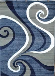 Blue And Gray Area Rug 0327 Blue Purple Gray Black Modern Area Rug Comteporary Abstract Carpet New Ebay