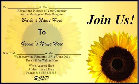 free editable wedding invitation templates free editable invitations images