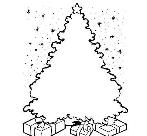imagenes para pintar arbol navideño dibujo de 193 rbol iluminado para colorear dibujos net