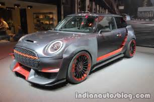 What Year Mini Cooper Should I Buy Mini Cooper Works Gp Concept Showcased Iaa 2017 In