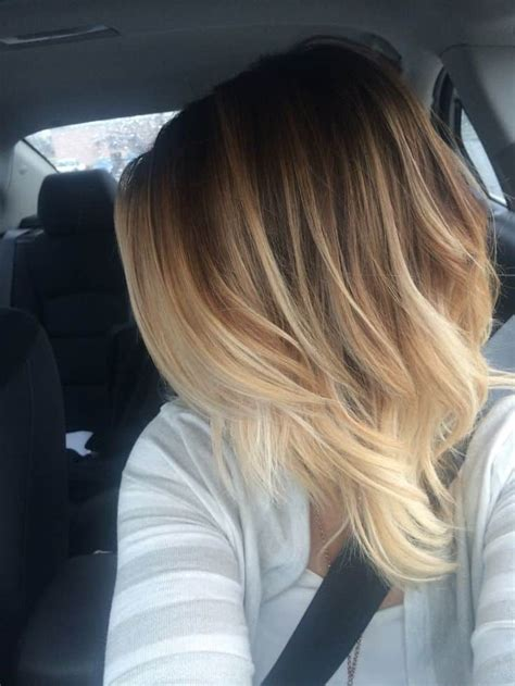 fine hair ombre 10 best balayage hair colors on short hair trend in 2017