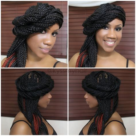styles to pack big braids with pictures packing braids style hairstylegalleries com