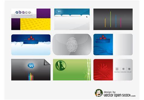Mit Business Card Template by Visitenkarten Vorlagen Pack Kostenlose Vektor Kunst