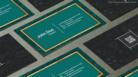 business cards for teachers templates free free business card template business cards templates