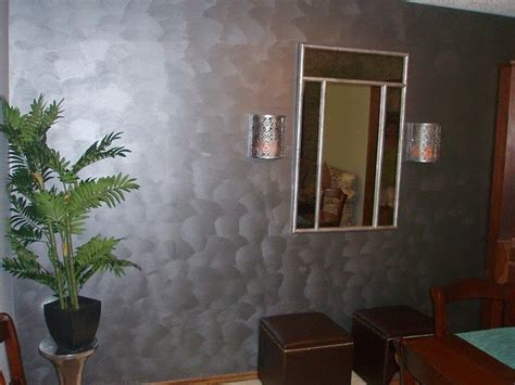 paint on wall metallic paint ideas for interior walls