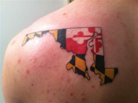 maryland flag tattoo best 25 maryland ideas on