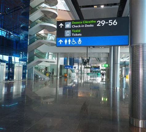 guide to airport service and amenities and terminal maps dublin airport t2 imagery dublin airport t2 guide