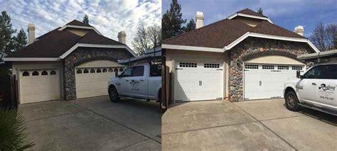 pro garage door repair install services auburn ca