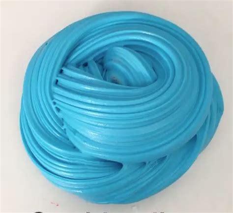 Blue Fluffy blue fluffy slime ᔕᒪiᗰe