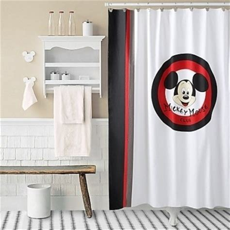 vintage mickey mouse shower curtain 93 best mickey mouse bathroom images on pinterest