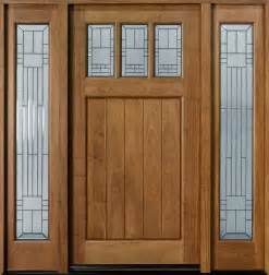 Hardwood Exterior Doors Craftsman Custom Front Entry Doors Custom Wood Doors